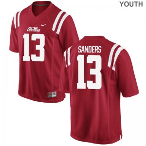Braylon Sanders Ole Miss Rebels Jersey S-XL Limited Youth Jersey S-XL - Red