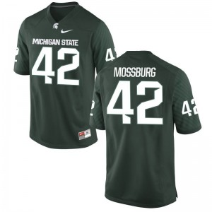 Green Brent Mossburg Jersey XXL Michigan State Men Limited