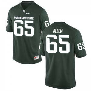 Michigan State University Brian Allen For Men Limited Green Official Jersey