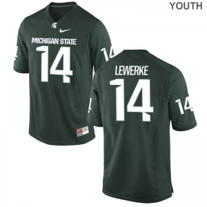 Brian Lewerke Michigan State University Jersey Medium Youth Green Limited