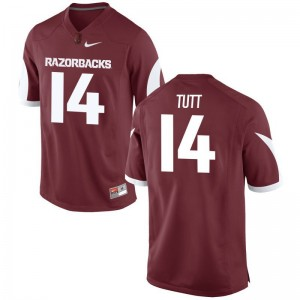 Arkansas Jersey of Britto Tutt For Men Limited - Cardinal