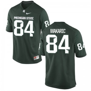 Men Small Michigan State Brock Makaric Jersey Mens Limited Green Jersey