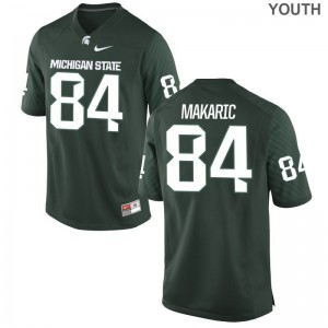 Limited Youth Michigan State Jerseys Youth Large Brock Makaric - Green