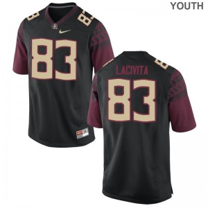 Limited Bryan LaCivita Jerseys Medium Florida State Black Youth(Kids)