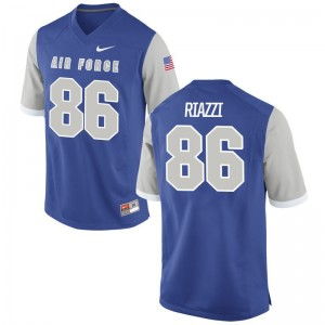C.J. Riazzi Air Force Falcons Men Limited Jersey - Royal