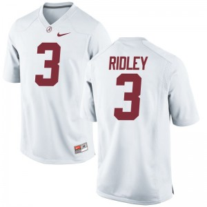 Alabama Crimson Tide Calvin Ridley Limited For Men Jersey 3XL - White