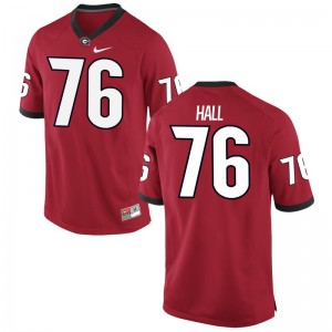 Carson Hall For Men Red Jersey Limited UGA Bulldogs