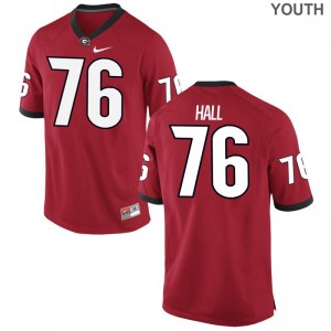 Limited Carson Hall Jerseys Small For Kids Georgia Bulldogs - Red