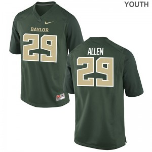 Chad Allen Jersey Youth X Large Youth Miami Green Limited
