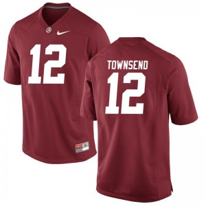 Men Limited Bama Jersey Chadarius Townsend Red Jersey
