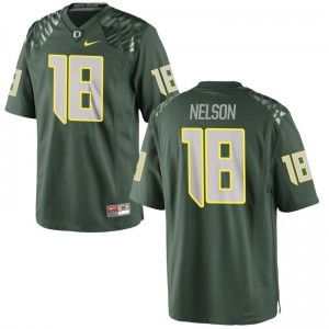 Oregon Ducks Limited Charles Nelson Men Jerseys Large - Green