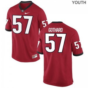 Daniel Gothard Jersey UGA Red Limited For Kids Player Jersey