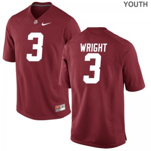 Daniel Wright Alabama For Kids Jersey Red Limited Jersey