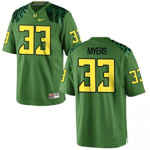 Dexter Myers Oregon Jersey Youth Limited Apple Green NCAA