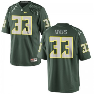 Dexter Myers Youth(Kids) Jerseys Youth X Large UO Limited Green