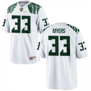 UO Dexter Myers Jerseys Large White Youth(Kids) Limited
