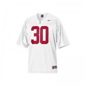 Alabama Crimson Tide Dont'a Hightower Youth Limited Football Jerseys White