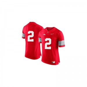 Dontre Wilson Jersey Ohio State Buckeyes Red Diamond Quest Patch Limited Kids Jersey