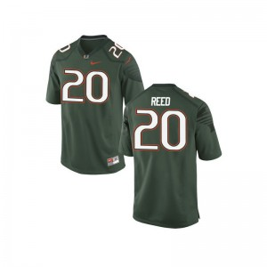 Ed Reed Youth Jerseys Youth X Large Limited Green Miami