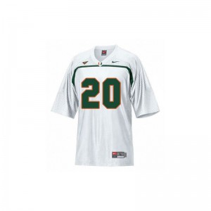 Miami Ed Reed Jersey X Large Youth(Kids) Limited White