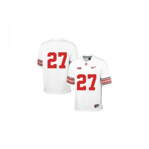 Eddie George OSU Mens Limited Jersey Men Large - White Diamond Quest Patch
