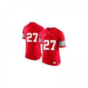 Eddie George Youth(Kids) Ohio State Jerseys Red Diamond Quest Patch Limited Stitch Jerseys