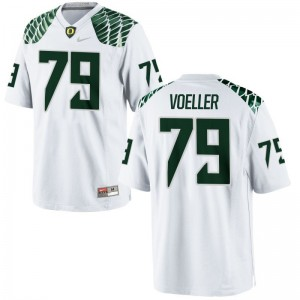 Evan Voeller Oregon Ducks Jerseys Men XL White Men Limited