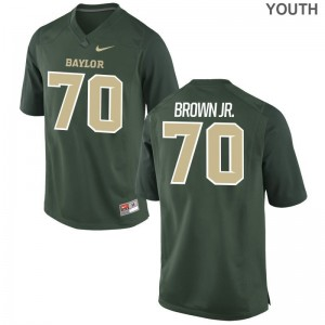 George Brown Jr. Youth Jerseys Youth XL Miami Hurricanes Limited - Green