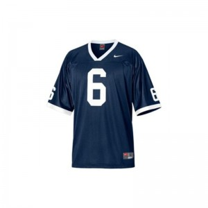 Gerald Hodges PSU Jersey Small Limited Youth(Kids) Jersey Small - Navy Blue