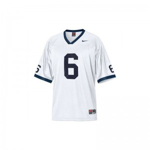 PSU Player Gerald Hodges Limited Jersey White Youth(Kids)