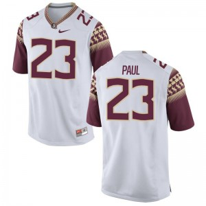 Herbans Paul Florida State Jerseys Youth Small Limited For Kids White