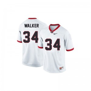White Herschel Walker Jersey X Large UGA Bulldogs Kids Limited