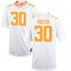 Tennessee Volunteers Holden Foster Jersey Youth X Large Youth(Kids) Limited Jersey Youth X Large - White