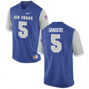 Isaiah Sanders For Men Jersey Mens Small Limited Air Force Falcons - Royal