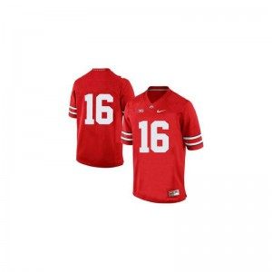 Ohio State J.T. Barrett Jersey College Mens Limited Red Jersey