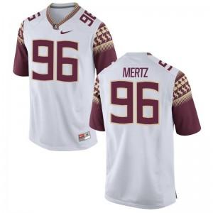 JT Mertz Florida State Jersey Limited Mens Jersey - White