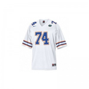 Mens Jack Youngblood Jersey Men Small Florida Limited White