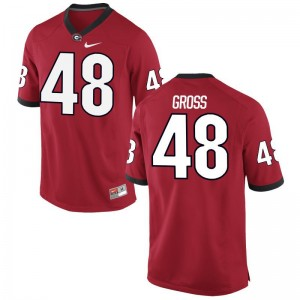 Jacob Gross Mens Jersey XXXL Limited University of Georgia - Red