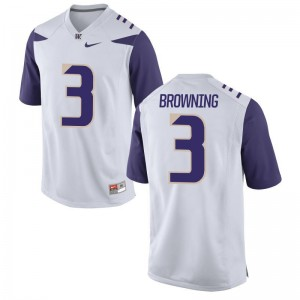 Washington Jake Browning Jerseys XXXL Mens Limited White