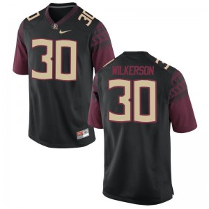 Jalen Wilkerson Jersey Florida State Seminoles Black Limited Mens Embroidery Jersey
