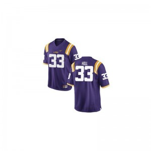 Tigers Jeremy Hill Jersey For Men Limited - Purple