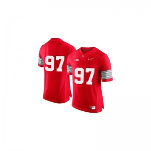 Joey Bosa Ohio State Buckeyes Jerseys Men Limited - Red Diamond Quest Patch