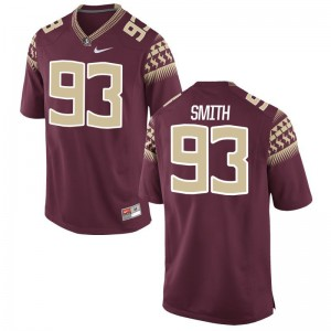 Justin Smith Men Jersey XXX Large Limited Florida State Seminoles - Garnet
