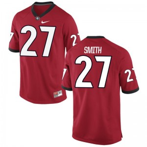 KJ Smith Youth(Kids) Jersey Large Limited UGA - Red