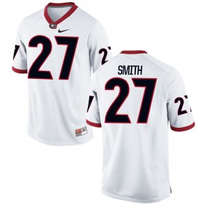 KJ Smith For Kids UGA Bulldogs Jerseys White Limited Alumni Jerseys