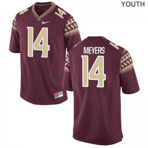 FSU Seminoles Kyle Meyers Youth Limited Embroidery Jersey Garnet
