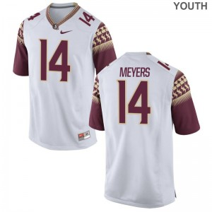 FSU Kyle Meyers Jersey XL Youth(Kids) Limited Jersey XL - White