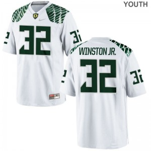 La'Mar Winston Jr. For Kids White Jersey Youth Large Limited UO