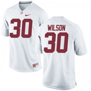 Limited Bama Mack Wilson For Men Jerseys Men XXXL - White
