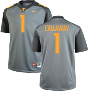 Tennessee Marquez Callaway Jerseys Limited Men Jerseys - Gray